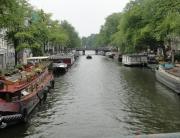 Os canais são a marca registrada da capital holandesa