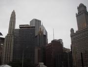 Arquitetura variada é uma marca de Chicago pós incêndio do século 19