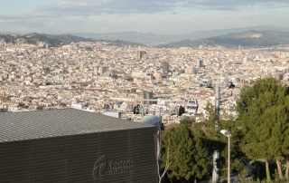Do Montjüic com Barcelona aos seus pés