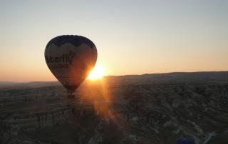 Capadócia balão sol
