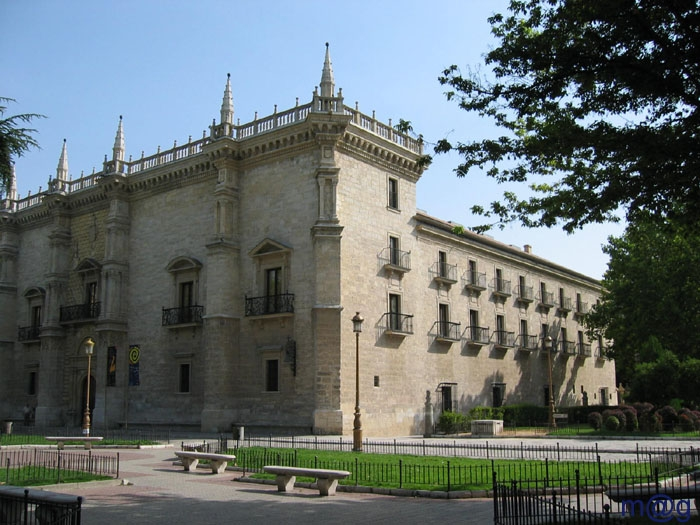 Valladolid_-_Palacio_de_Santa_Cruz universidade