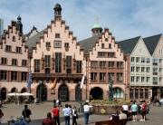 O centro histórico em Romerberg