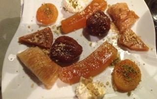 Mix de sobremesas do Seten: abóbora, damasco,