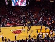 Jogo de basquete é um ótimo programa em Miami