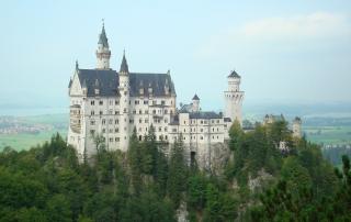 O impressionante castelo da Baviera