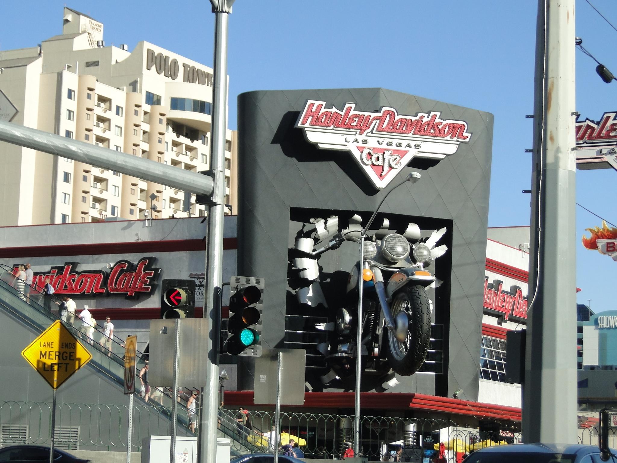 Vegas Harley fachada