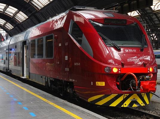 Malpensa Express, o trem rápido que liga o aeroporto ao centro de Milão em meia hora