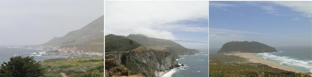Big Sur paisagens