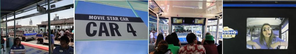 Universal studio tour trem