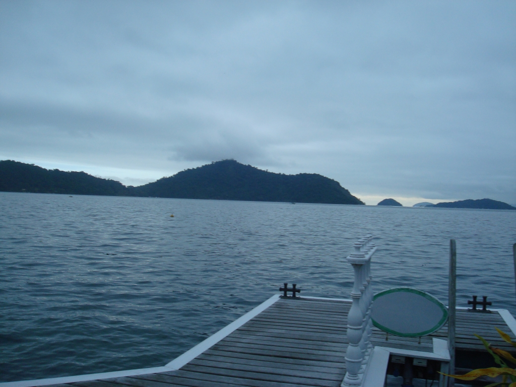 Rio Angra barco passeio