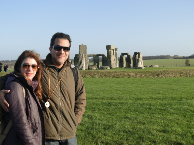 Stoneheng Lúcia e Rodrigo